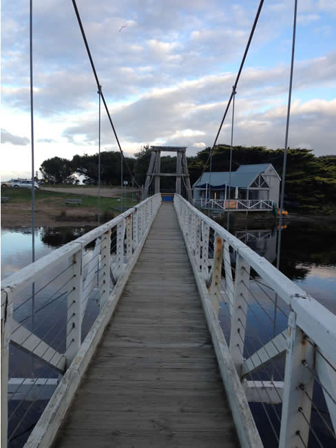 The Lorne Footbridge, Lorne, Victoria, Australia