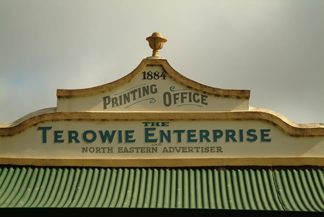 Printing Office, Terowie township, South Australia