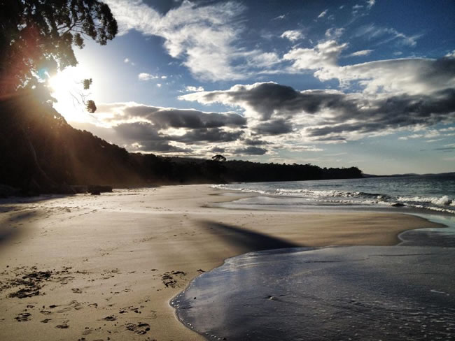 Bruny Island, south of Hobart, Tasmania, Australia