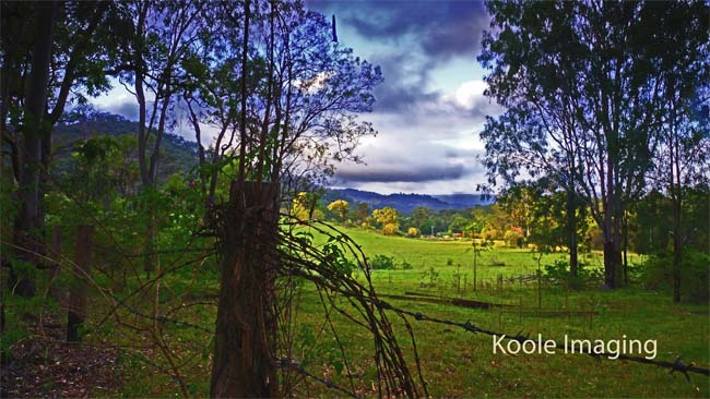 Rustic scene near the Boolboonda Tunnel, Queensland, Australia.