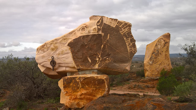 The Horse Sculpture, Broken Hill Sculptures, Living Desert, Broken Hill, New South Wales, Australia