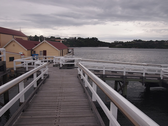 Proudfoots Retaurant/ boathouse on the Hopkins River, Warrnambool, Victoria, Australia