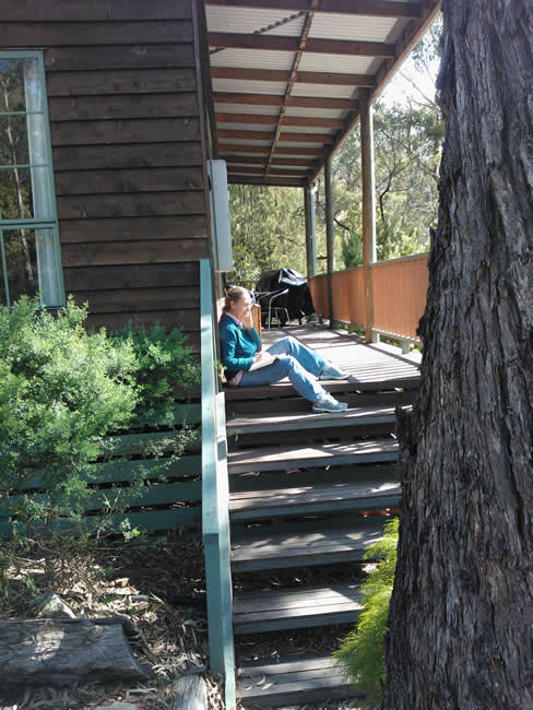 Just chilling at Country Cottage, Halls Gap, Grampians National Park (Gariwerd), Victoria, Australia