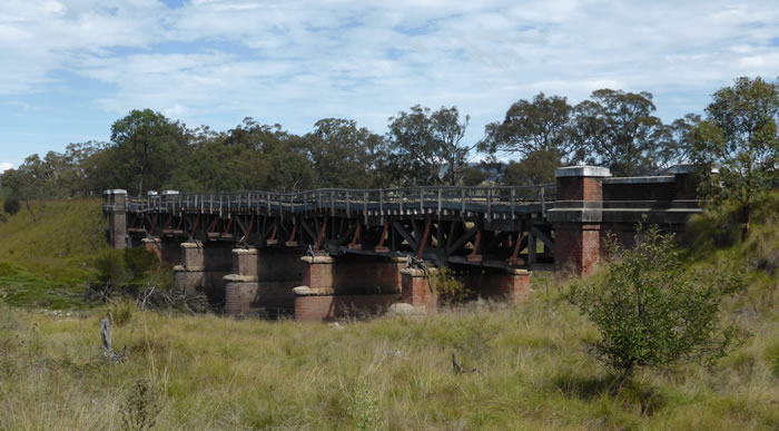 Sunnyside Railway Bridge, over the Tenterfield Creek, Tenterfield, New South Wales, Australia