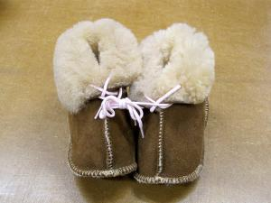 AussieSheepskin Fluffies - 100% sheepskin Baby Booties