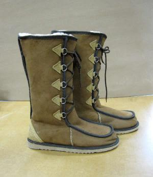 The lace-up Gaucho UGG Boot - Australian made Sheepskin Boot from AussieSheepskin