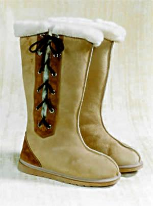 Side Lace-up country style UGG Boot