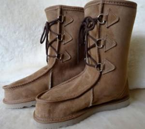Lace-up midi Gaucho UGG Boot - Sheepskin boot from AussieSheepskin