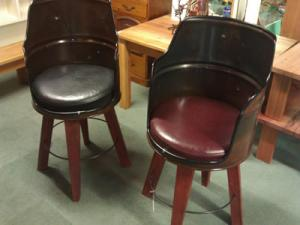 Ned Kelly Drum Chairs