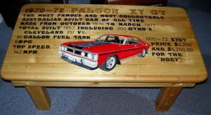 1970-1972 Ford Falcon XY GT Coffee table