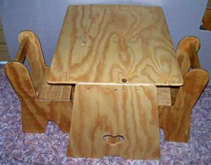 Little Tackers Table & Chair set