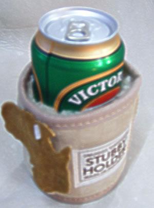 Sheepskin Outback Stubby/ Drinks holder