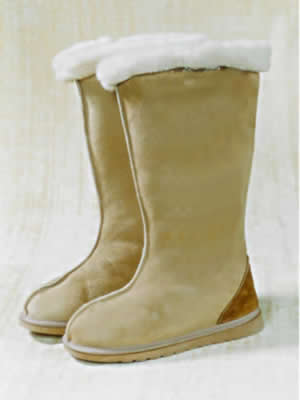 Long Boot country style UGG Boot with centre seam